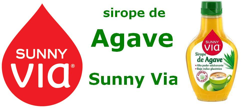 sirope de Agave Sunny Via