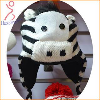 Animal pattern hats