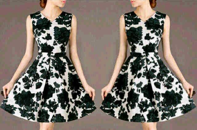 dress wanita spandex
