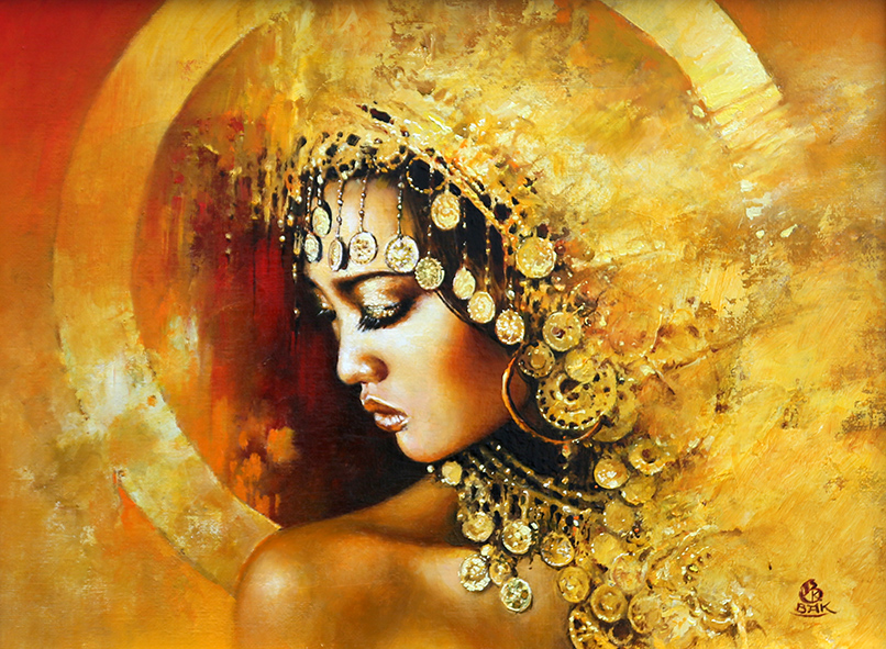 04-Karol-Bąk-Beautifully-Stylised-Portrait-Paintings-www-designstack-co