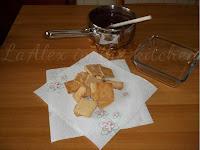 Ingredienti - Tortino di Biscotti e Budino al cioccolato fondente