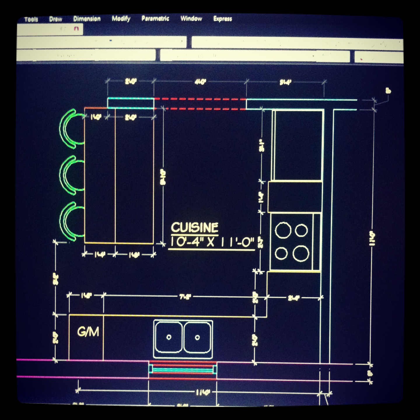 Design l e c la vie selon mon iphone for Cuisine 3d autocad