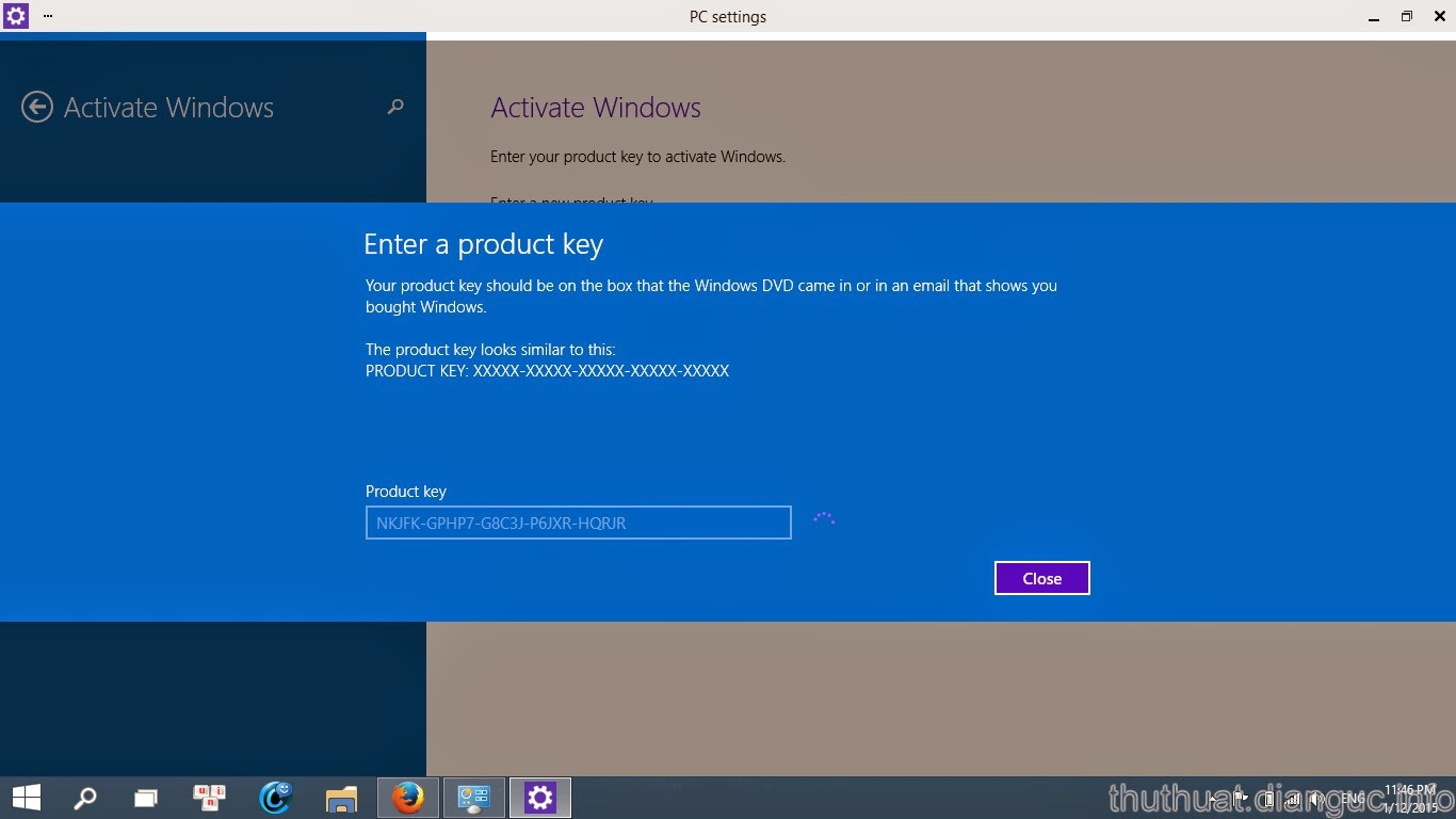 active Windows 10 Technical Preview