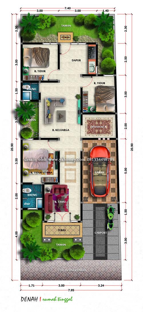Rumah Klasik Modern Bapak Umar St Seputar Dunia Rumah