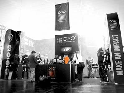 KORI with D3O protection at international motorcycle fair Intermoto
