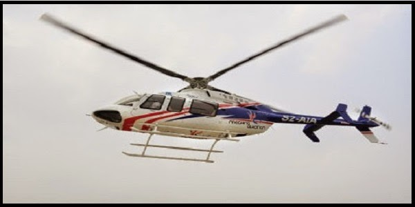 Helicopter air ambulance hiring for carrying patients in Bangladesh