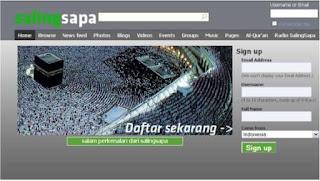 Salingsapa.com Sarana Silaturrahmi Muslim – Moslem Social Networking