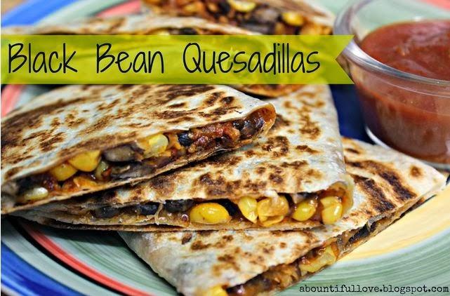 Black Bean Quesadillas Recipe