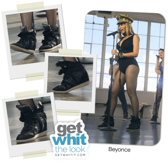 """Requested Look: Beyonce's Isabel Marant """"Love On Top"""" Sneakers for Less"""