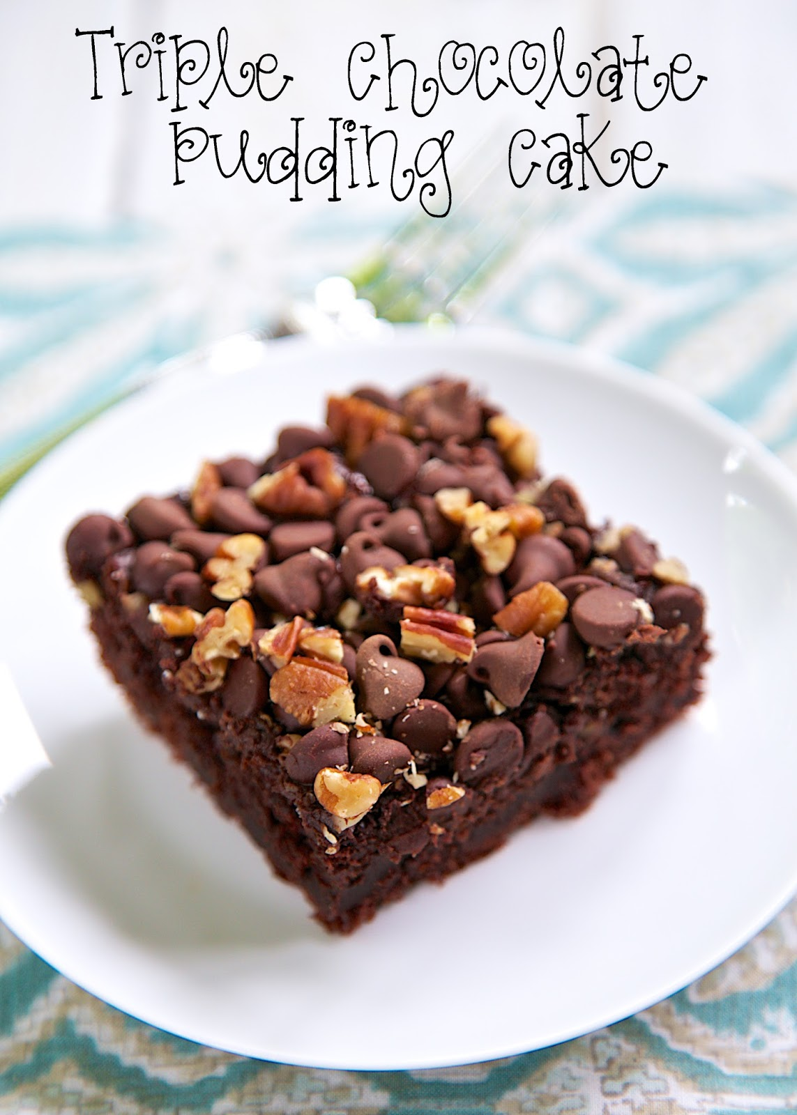 Triple Chocolate Pudding Cake Recipe - only 5 simple ingredients ...