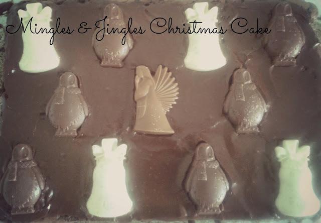 Mingles & Jingles Christmas Cake // 76sunflowers