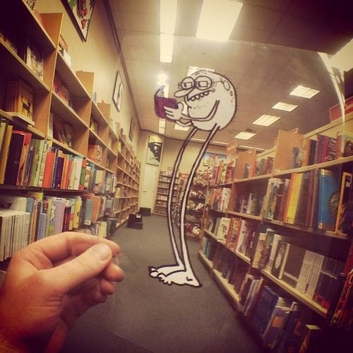 12-Legbean-in-library-Marty-Cooper-aka-Hombre-McSteez-Doodle-Ramblings-www-designstack-co