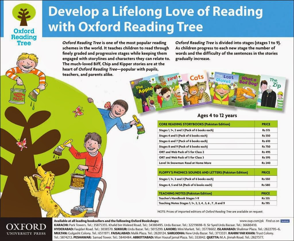 Develop a Lifelong Love Reading with Oxford Reading Tree