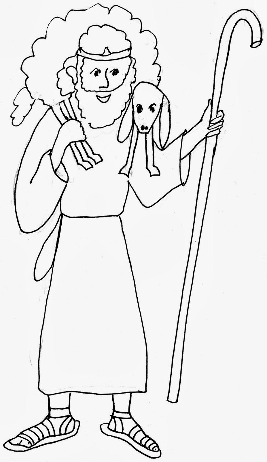 Imagenes Cristianas Para Colorear: Dibujos Para Colorear De La ...