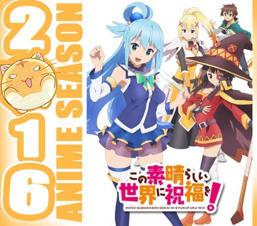 Kono Subarashii Sekai ni Shukufuku wo! Wallpaper Screenshot Preview Cover