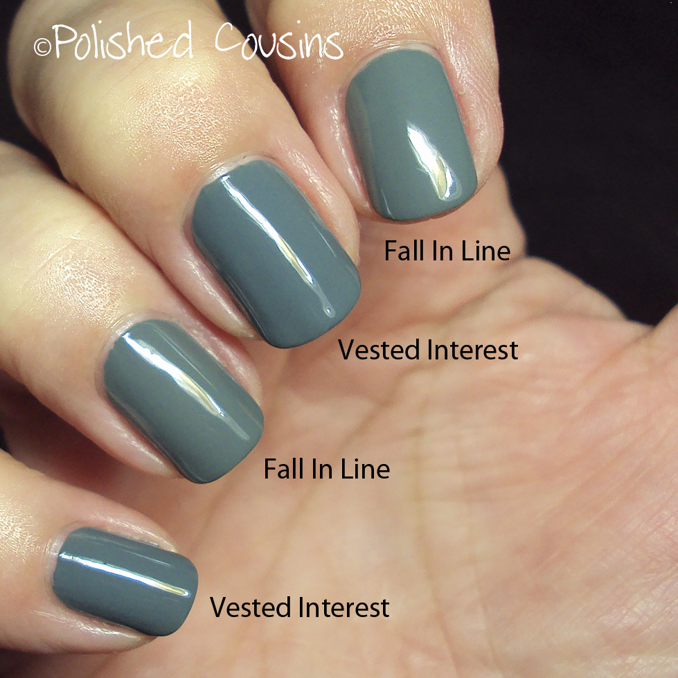 Polished Cousins: Essie Fall 2014 Dressed To Kilt Collection Comparisons