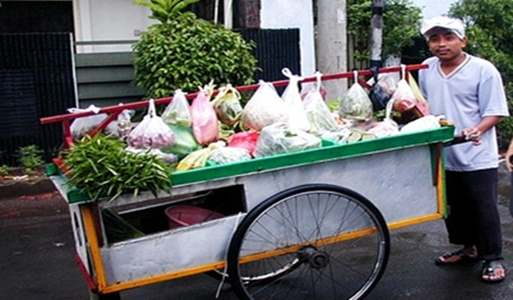 Gambar tukang penjual sayur keliling