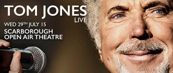 Tom Jones at Scarborough Open Air Theatre