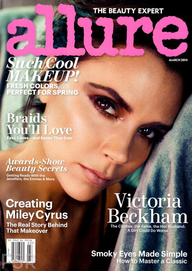 Victoria Beckham para la revista Allure Marzo 2014