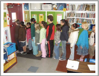 Student achievement best practices must give students a feeling of order and confidence, even when lining up at the door.