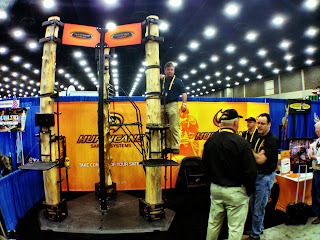 archery trade show booth