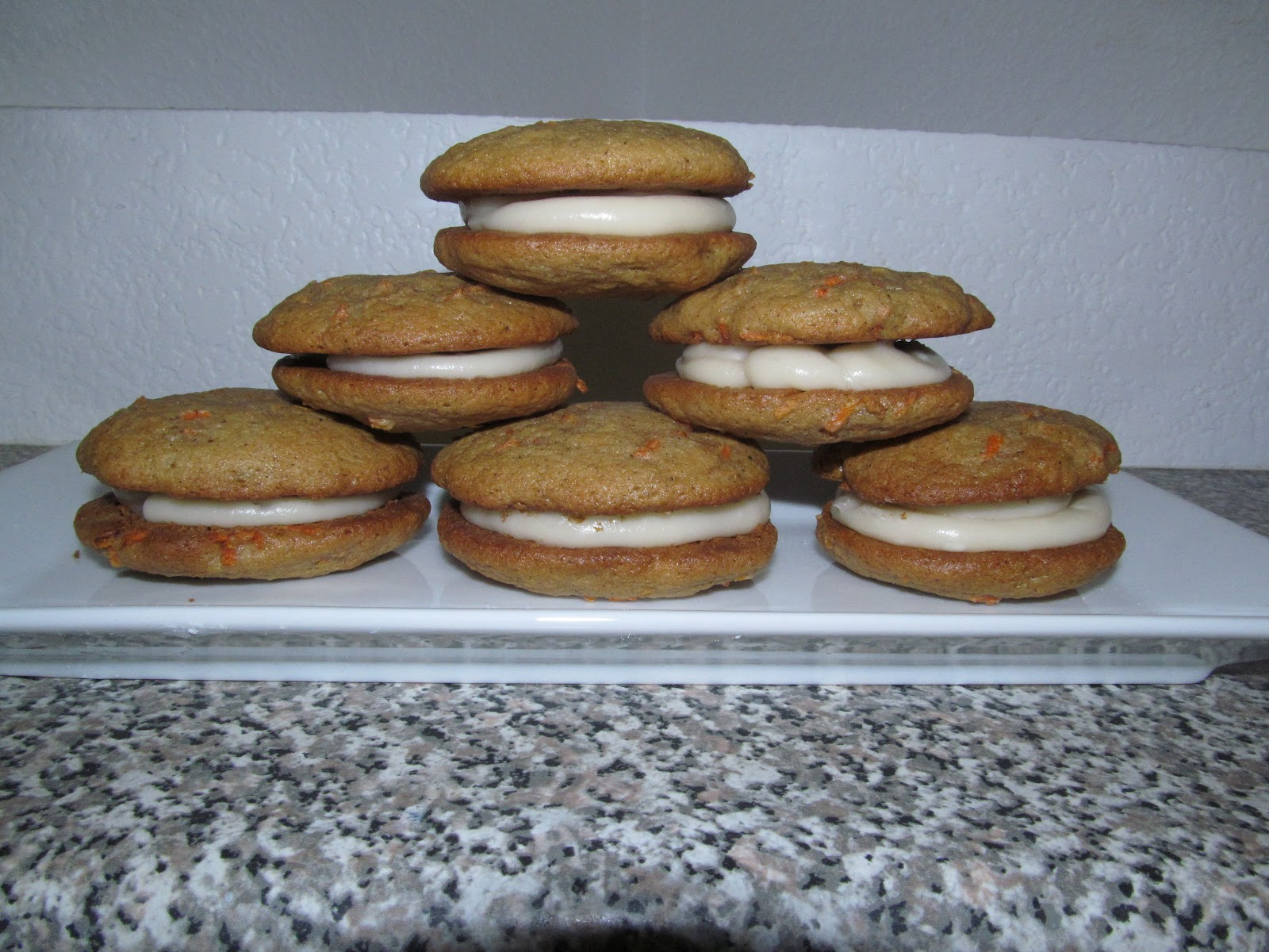 The Freshman Cook: Improv Challenge~Carrot Cake Whoopie Pies!