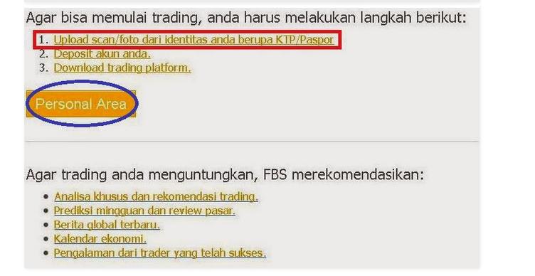 Buka akun forex trading
