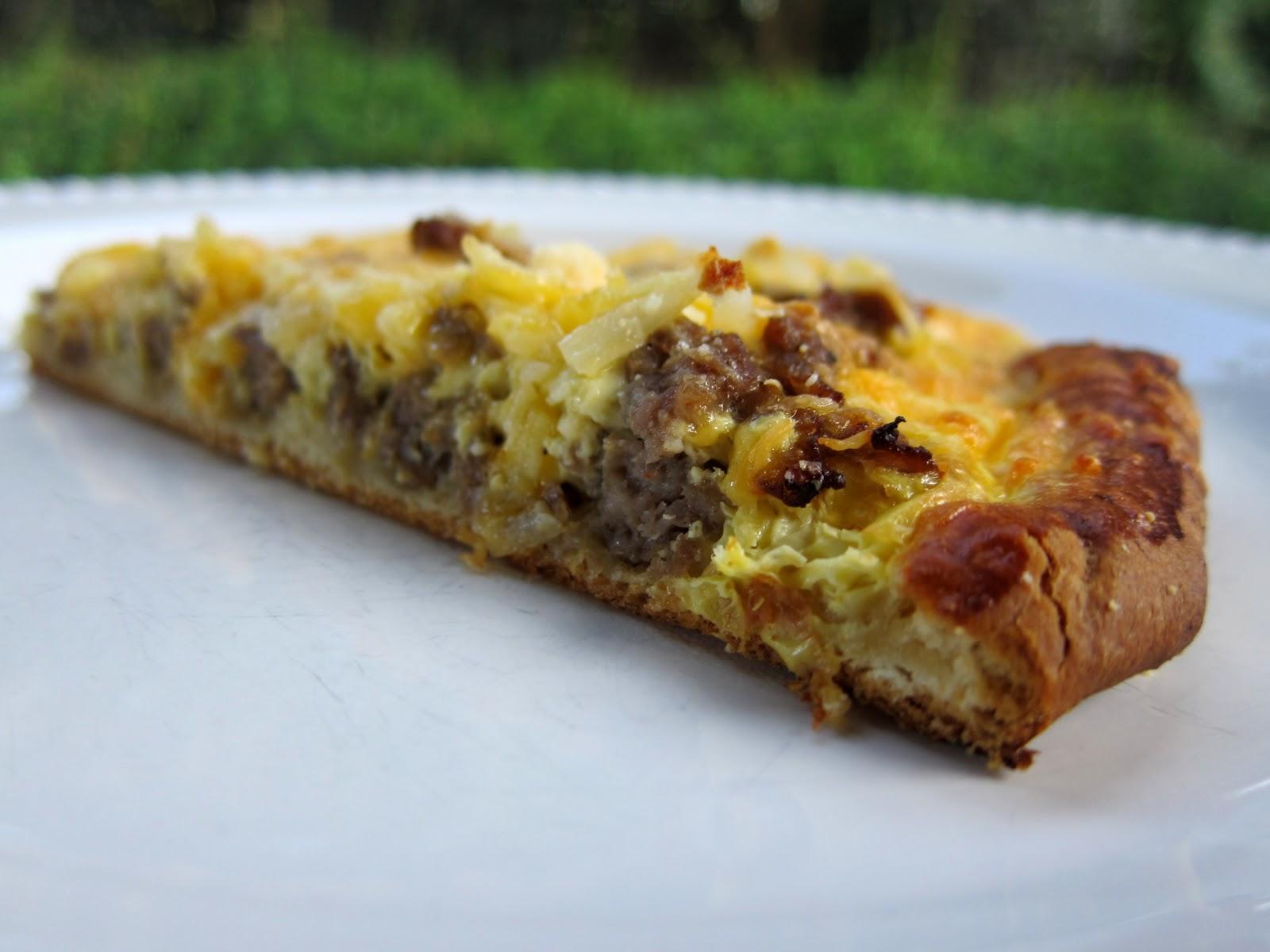Breakfast Pizza | Plain Chicken