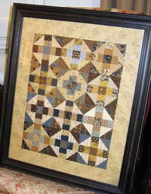 Little Quilt in a Frame