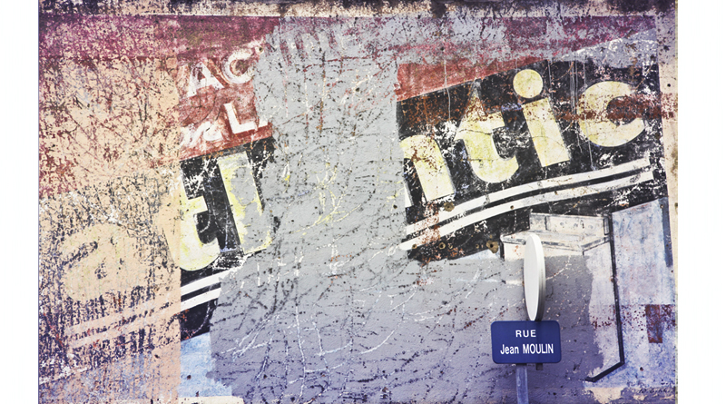 mur peint publicité