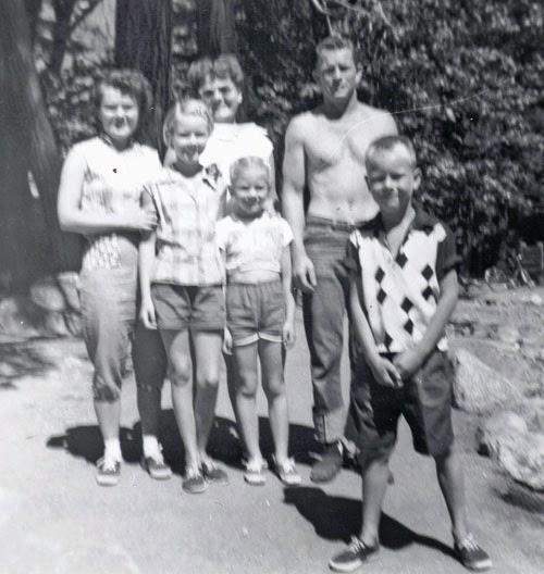 Yosemite Family Vacation 1956