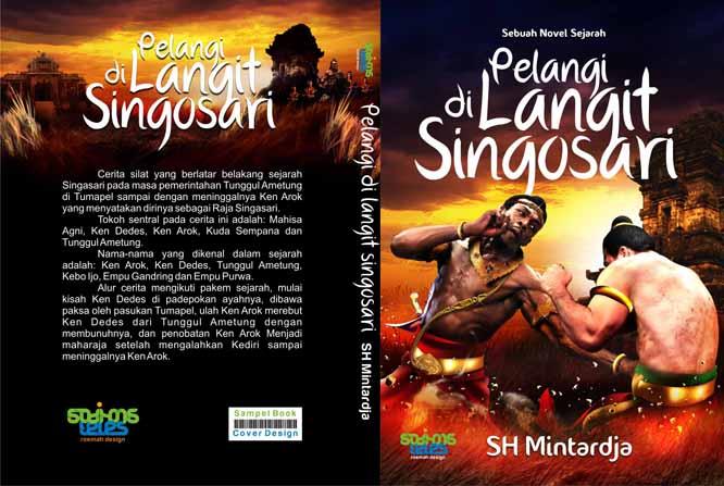Godhong Teles Contoh Desain Cover Novel Fiksi 01