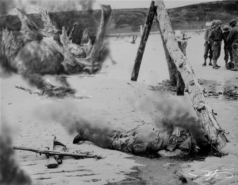 El soldado caído. (The fallen soldier)