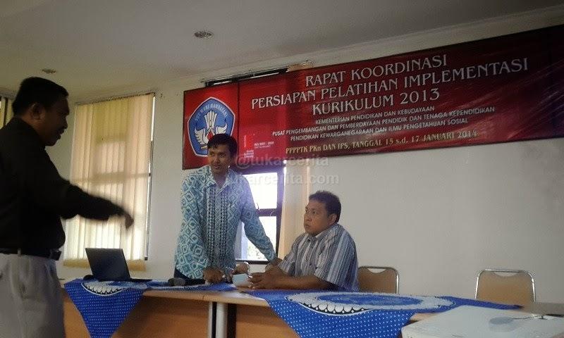 Rakor Persiapan Pelatihan Implementasi Kurikulum 2013