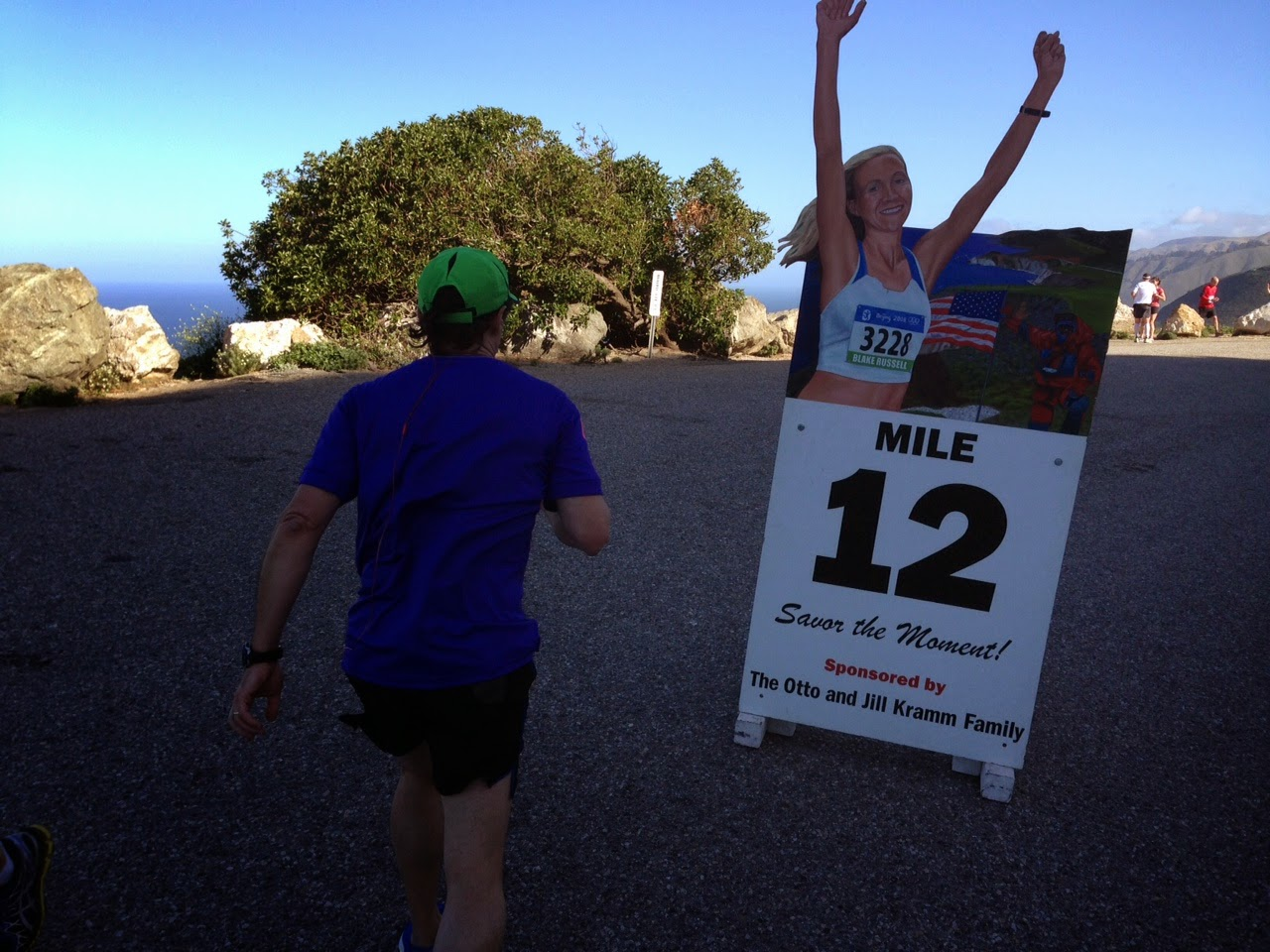 Hurricane Point - Big Sur International Marathon Mile 12
