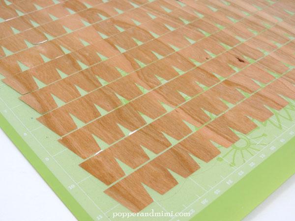 Die cut wood veneer with Cricut Explore | popperandmimi.com