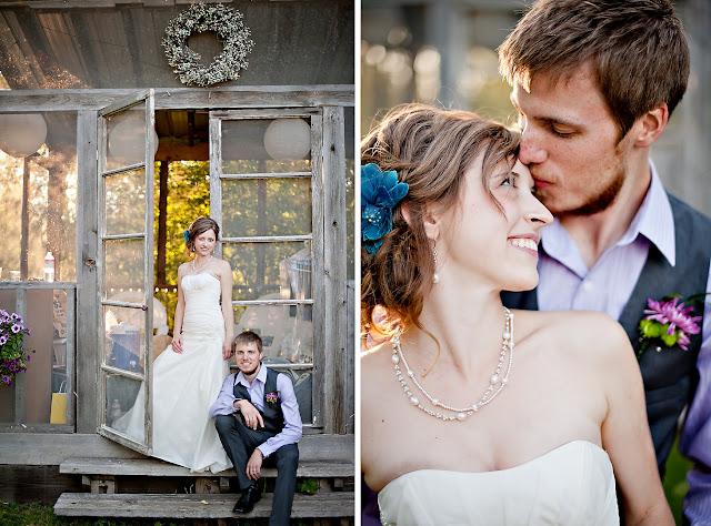 andrea+jord3 Jordan & Andrea { Minnetonka Orchard Wedding }