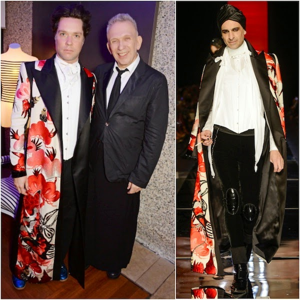 Rufus Wainwright in Jean Paul Gaultier Couture - The Fashion World Of Jean Paul Gaultier