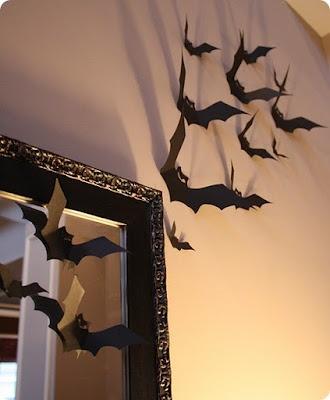 decorazione pipistelli bat decorations