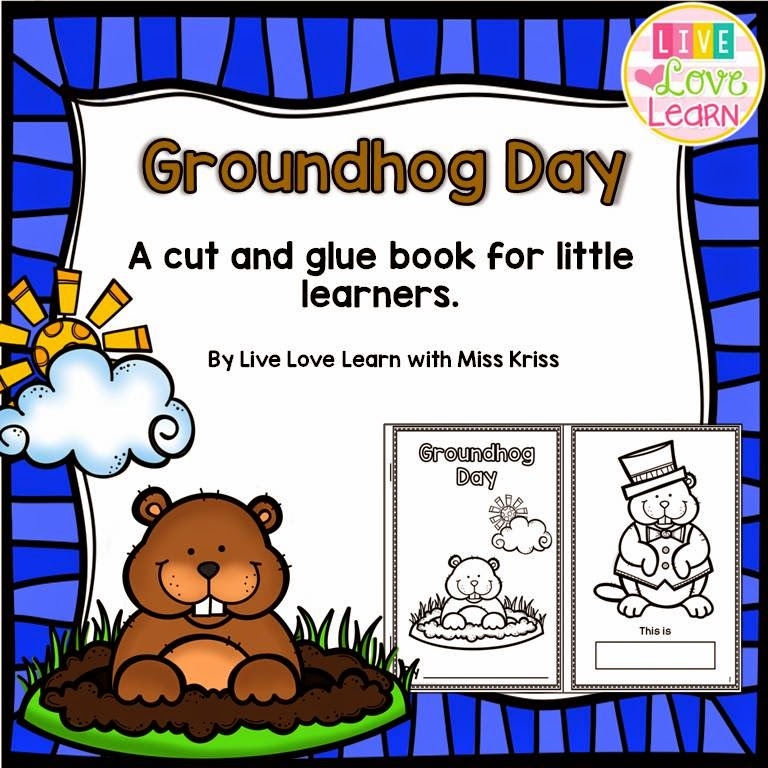 https://www.teacherspayteachers.com/Product/Groundhog-Day-A-Book-for-Little-Learners-1655224