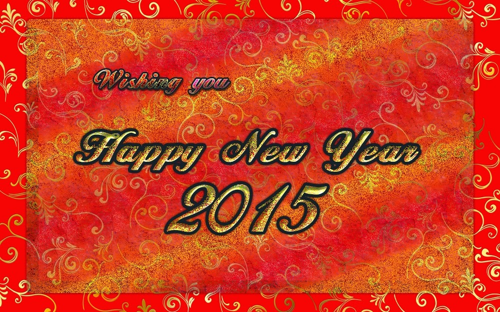Beautiful Happy New Years Greeting Wishes 2015 Cards