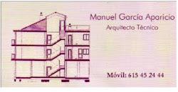 Manuel Garcia Aparicio Arquitecto Tecnico