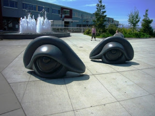 Eye Benches by Louise Bourgeois