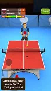 Masa Tenisi Android Apk Oyunu resimi 1