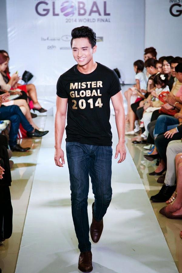 Live Show Mister Global 2014