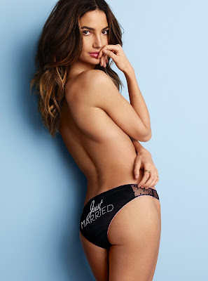 Lily Aldridge's Topless Photoshoot For Victorias Secret 2013 HQ Photos