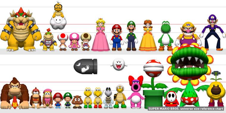 Personajes de Super Mario: