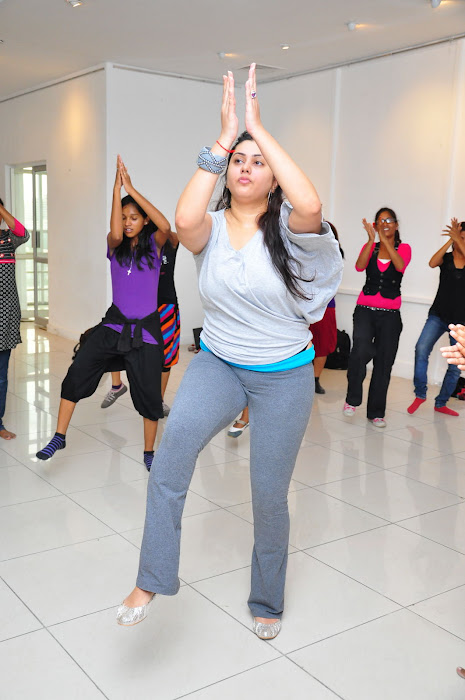 namitha dance reharsal cute stills