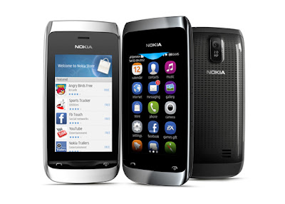 Nokia Asha 309: 3.0 Inches