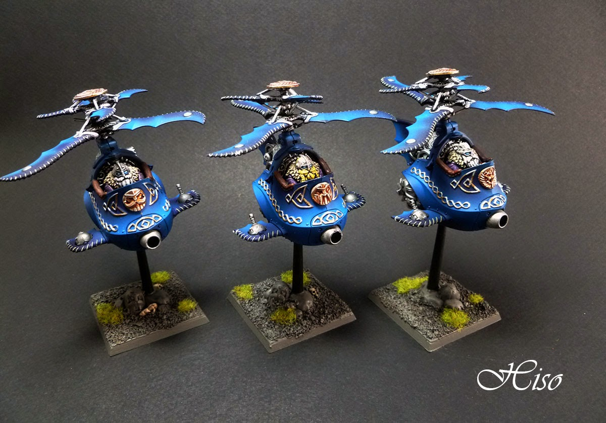Warhammer Nains Dwarfs Gyrocopter